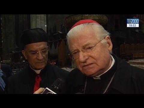 La prima visita ufficiale di Papa Francesco a Milano, l'annuncio del card. Angelo Scola