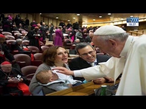 Papa Francesco al Sinodo: La dottrina cattolica sul matrimonio non è stata modificata