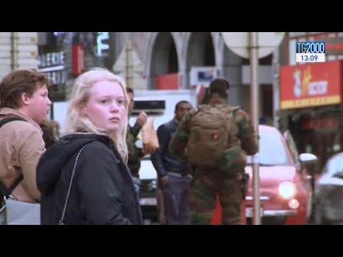 Bruxelles ha paura, si temono attentati multipli. Innalzato al massimo il livello d'allerta