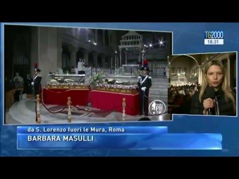Roma accoglie i santi della Misericordia: San Pio da Pietrelcina e San Leopoldo Mandic