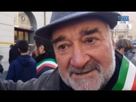 Terremoto, in piazza a Roma la rabbia dei terremotati di Amatrice e Accumoli