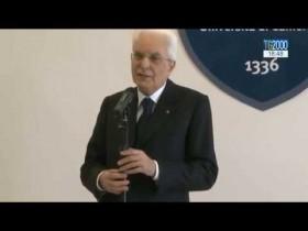 """Terremoto: il Presidente della Repubblica a Camerino incontra i sindaci: """"vi saremo vicino"""""""