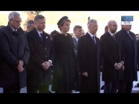 Bruxelles un anno dopo, il Belgio si ferma per commemorare le vittime del terrorismo