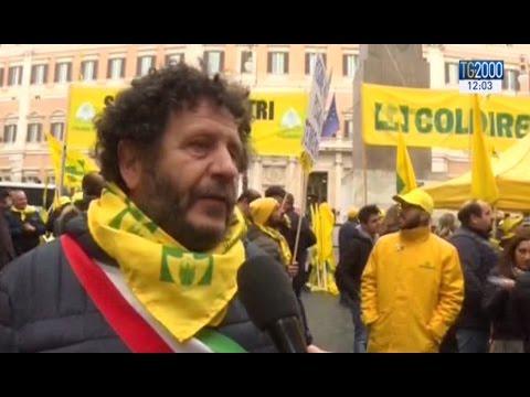 A Roma il grido di dolore degli allevatori delle zone terremotate del Centro Italia