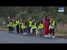 Fatima, In pellegrinaggio a piedi verso il Santuario e l'incontro con Papa Francesco