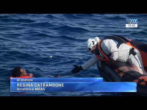 Migranti: il naufragio di Zuara. L'intervista a Regina Catrambone, responsabile Moas