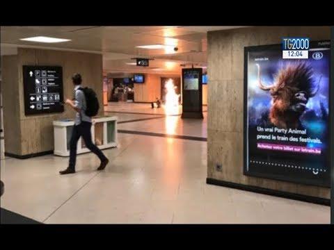 Bruxelles, fallito attentato alla stazione centrale. Ucciso il terrorista