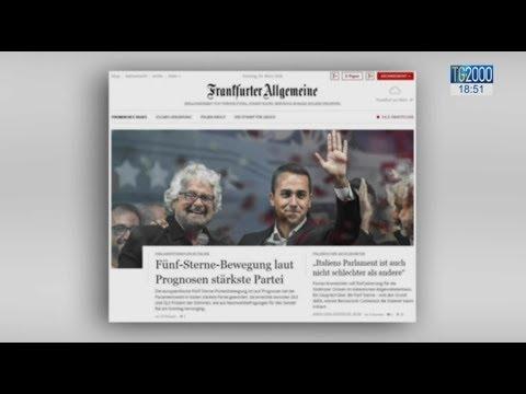 Elezioni Politiche, i commenti dei leader europei e le reazioni della stampa internazionale