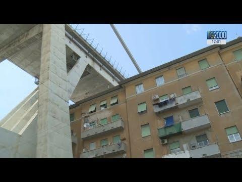 Ponte Morandi, in 3 mesi una casa a tutti gli sfollati. Conte: Atlantia aumenti i risarcimenti
