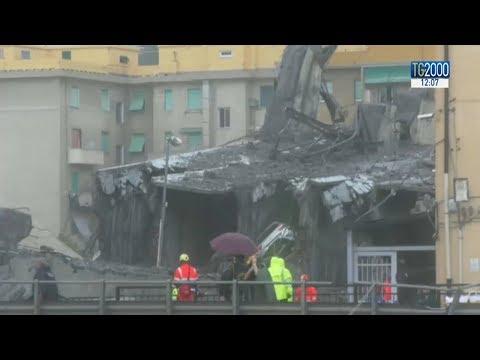 Genova, ponte Morandi: indagini concentrate sugli stralli del pilone 9