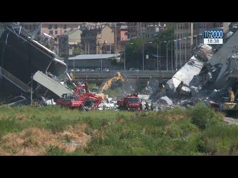 Genova, Autostrade presenta piano demolizione