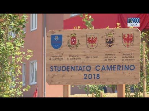Terremoto Centro Italia. A Camerino inaugurato il nuovo studentato