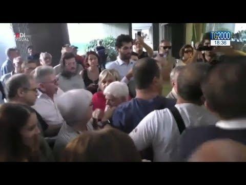 Genova, protesta sfollati. Citta' sotto pressione