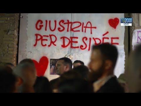 Roma. Fiaccolata in ricordo di Desirée Mariottini a San Lorenzo. Voci e testimonianze