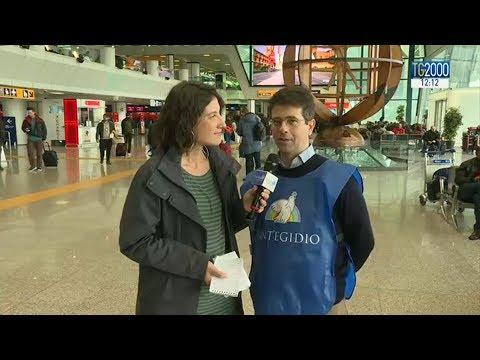 Corridoi umanitari: arrivati a Fiumicino 70 profughi siriani