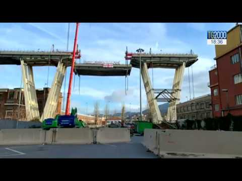 Ponte Genova: continua demolizione. Ipotesi sequestro