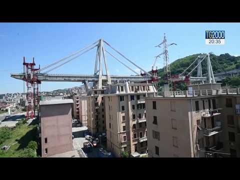 Ponte Genova, la demolizione del palazzo di Via Porro senza esplosivi