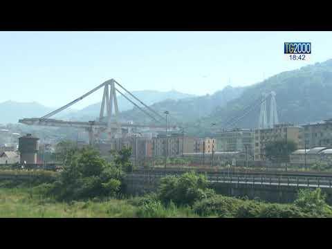 Ponte Morandi, video inedito mostra il cedimento della struttura
