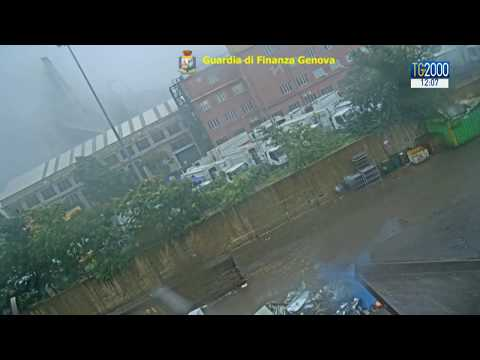 Ponte Morandi, ecco il video inedito del crollo