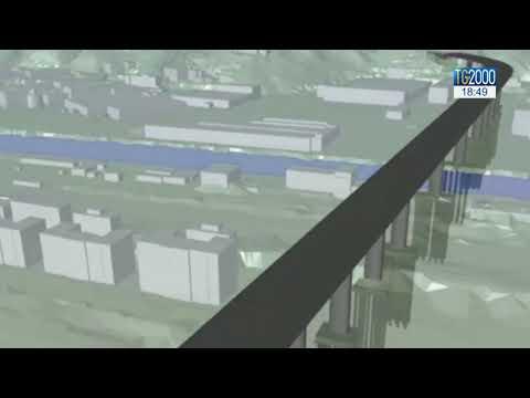Ponte Morandi, ecco come sarà la nuova struttura