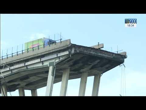 Genova. 1 anno fa il crollo del Ponte Morandi. I soccorsi e le demolizioni