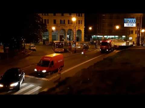 Genova attraversata da pezzo nuovo ponte Morandi