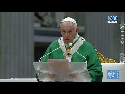 """Papa messa fine Sinodo: """"Grido dei poveri è grido di speranza della Chiesa"""""""