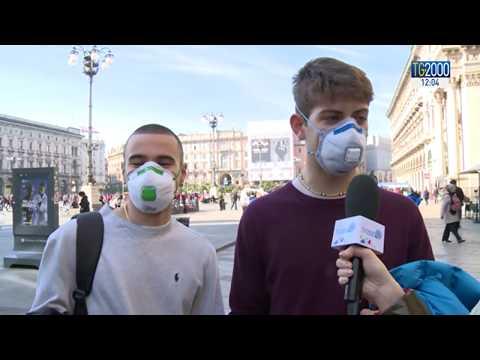 Coronavirus, le voci da Milano tra paura e mascherine