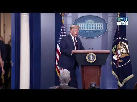 Usa, Trump chiede rinvio elezioni. Reazione furiosa di Obama
