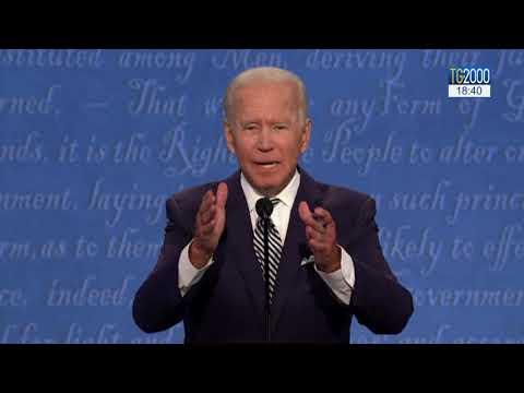 Usa, Trump-Biden rissa presidenziale in diretta tv