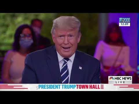 Trump vs Biden, duello tv a distanza