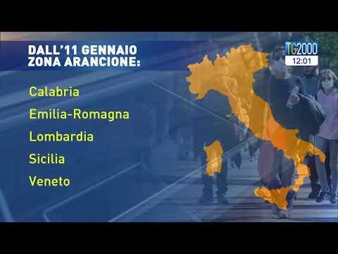 Covid, Italia in zona gialle tranne 5 Regioni. Nuove strette nel dpcm 15 gennaio