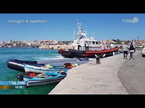 Lampedusa: ondata di sbarchi. Annegati in cinque, c'è anche un bimbo
