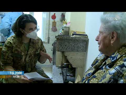 I vaccini nelle zone di montagna in Umbria distribuiti dall'Esercito