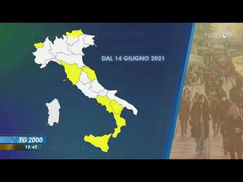 Covid, Italia bianca. Anche la Lombardia torna alla quasi normalità