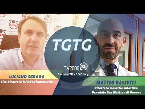 """TGTG, 3 giugno 2021 - """"Covid, ristoranti: aggiunti due posti a tavola"""""""