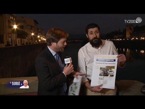 Papa Francesco a Firenze, Carlo Nicotra del Corriere Fiorentino