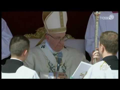 Madre Teresa è Santa. Papa Francesco pronuncia la formula di canonizzazione