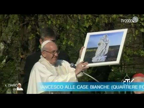 """Papa Francesco a Milano - Il discorso nel Quartiere Forlanini - """"Case Bianche"""""""