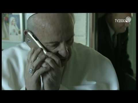 Case Bianche, Papa Francesco chiama al telefono la signora Adele, assente per motivi di salute