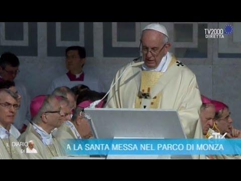 Papa Francesco a Milano - L'omelia nella Messa celebrata nel Parco di Monza