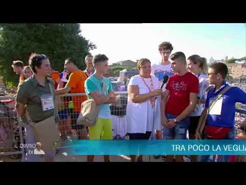 Siamo Qui. I giovani di Bisceglie e Ozieri al Circo Massimo da Papa Francesco