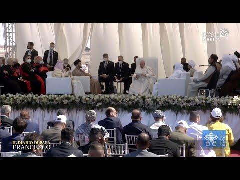 Speciale Il Diario di Papa Francesco, Incontro interreligioso presso la Piana di Ur – 6 marzo 2021