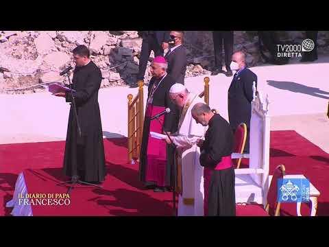 Papa Francesco in Iraq - Preghiera di suffragio per le Vittime della guerra