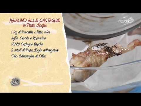 Maialino alle castagne in pasta sfoglia in due minuti