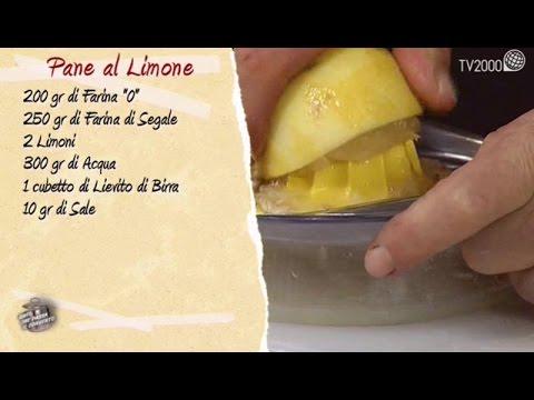 Pane al limone in due minuti