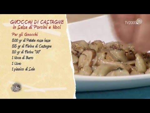 Gnocchetti alle castagne in salsa di porcini in due minuti