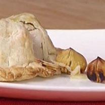 Maialino alle castagne in pasta sfoglia