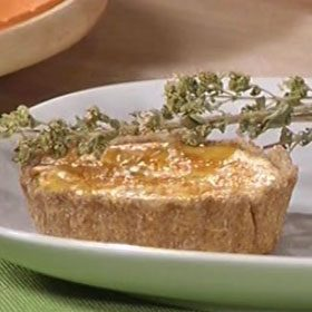 Tortine di zucca, ricotta e gorgonzola