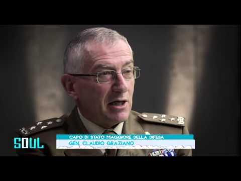 Il Capo di Stato maggiore della Difesa Claudio Graziano a #Soul